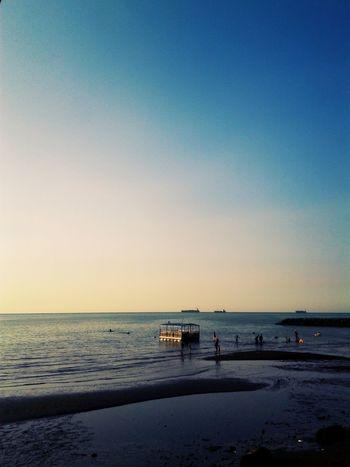 Pathek Beach Beach Landscape Situbondo Sky