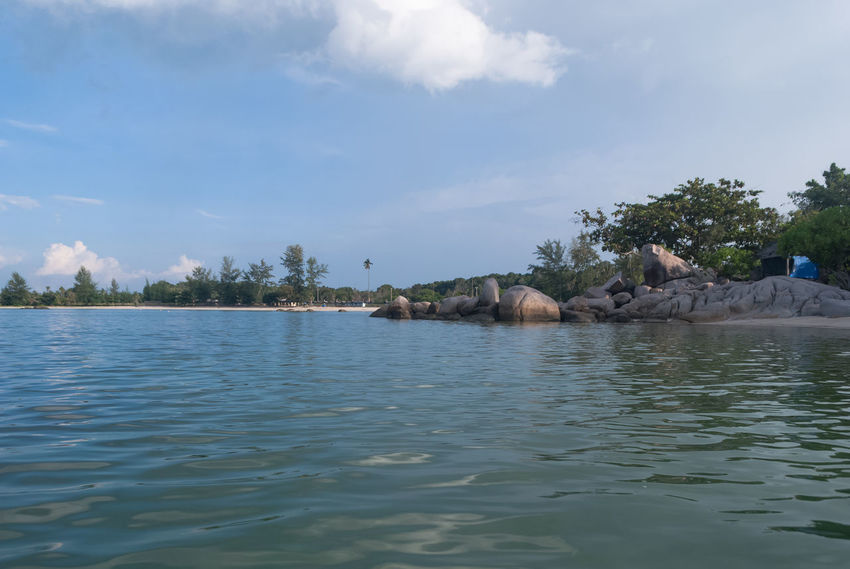 Let's vacation in Bintan island Beauty In Nature Bintan  Bintan Island Bintanisland Blue Calm Cloud Cloud - Sky Day Leisure Activity Let's Vacation In Bintan Island Nature Rippled Scenics Sea Sky Tranquil Scene Tranquility Travel Destinations Trikorabeach Vacation Vacations Water Waterfront