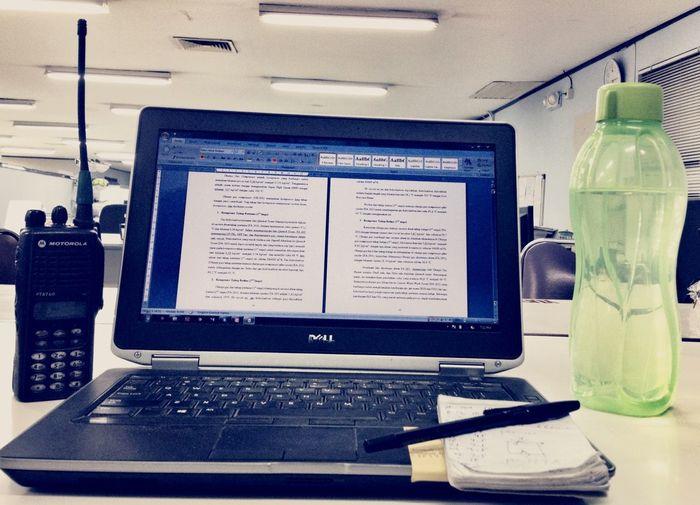 Antara kerja dan kuliah ! Work WORKHARDDell Delllatitude