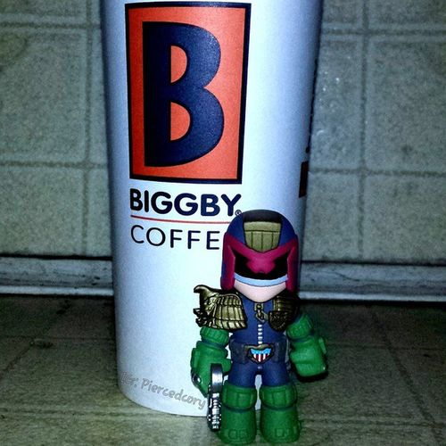 Don't wake me up with out coffee! It's the law! I know because, I AM THE LAW!!! Biggby Biggbycoffee  Coffeeordeath
