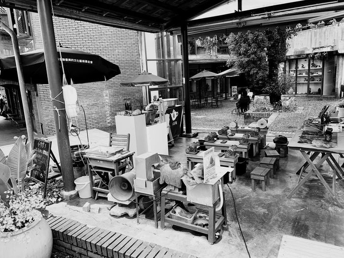 念舊 Architecture Built Structure Indoors  Day No People Abandoned Business