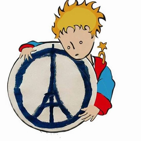 Lepetitprince Prayforparis Iamsorry