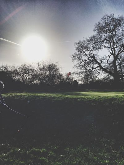 On the Brent Valley 11th Golf Golfcourse