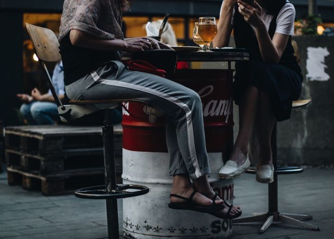 Low Section Human Leg Real People Shoe Human Body Part Sitting Body Part Men Casual Clothing Group Of People Adult People High Heels Lifestyles Women Leisure Activity Seat Night Nightlife Human Limb Adventures In The City Focus On The Story Modern Hospitality The Fashion Photographer - 2018 EyeEm Awards The Street Photographer - 2018 EyeEm Awards The Portraitist - 2018 EyeEm Awards The Photojournalist - 2018 EyeEm Awards The Still Life Photographer - 2018 EyeEm Awards #urbanana: The Urban Playground A New Beginning