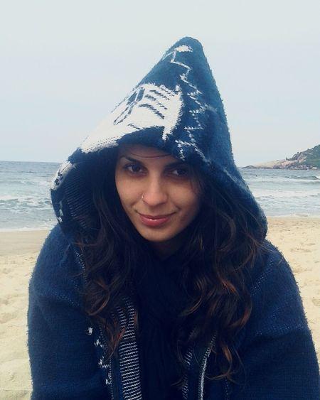 Frio e praia! Winter Praia Floripa Beach Mar