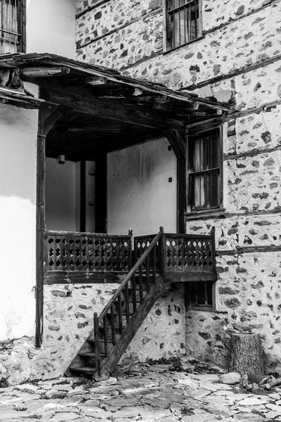 Architecture Building Exterior Built Structure House Old Old House Outdoors Stone Wall Stones Village Vintage