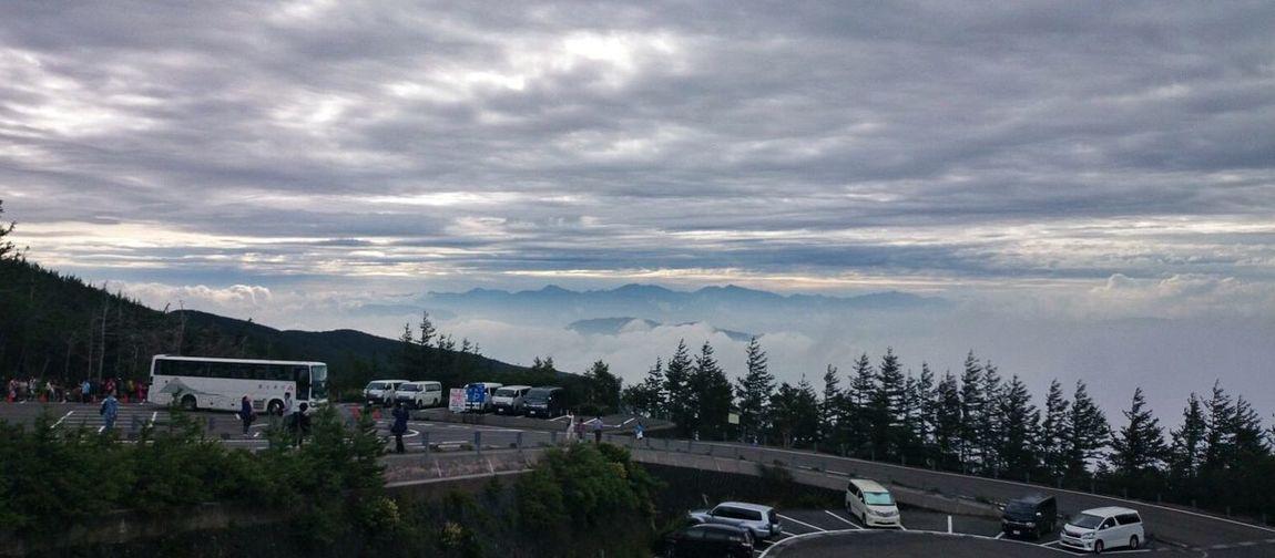富士山五合目からの景色 View from 5th station of Mt. Fuji Landscape EyeEm Best Shots - Landscape Clouds And Mountains