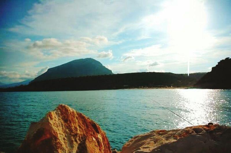 Saline Amazing View Beautiful View Beatiful Sea Sardinia Relaxing Sun Light Beachphotography My Best Photo 2015