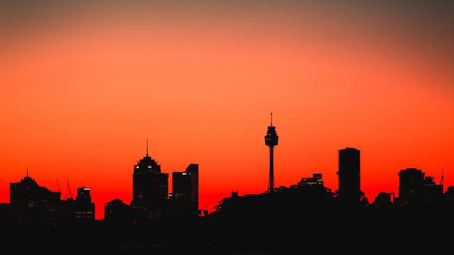The Sydney city