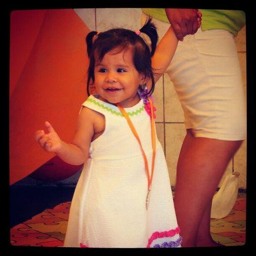 Valentina en su actuacion x Aniversario de Lima TeQuieroLima Igersperu Instagramperu Baby picoftheday