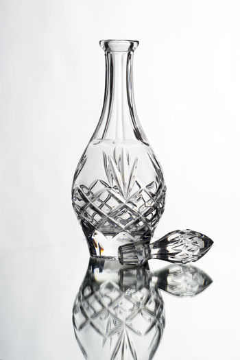 Bottle EyeEmNewHere Glass Glass - Material Glass Art Glass Objects  Glass Reflection Laboratory Mirror Reflection No People Reflection Reflection_collection Research Science Scientific Experiment Shape Studio Photography Studio Shot Studio Time