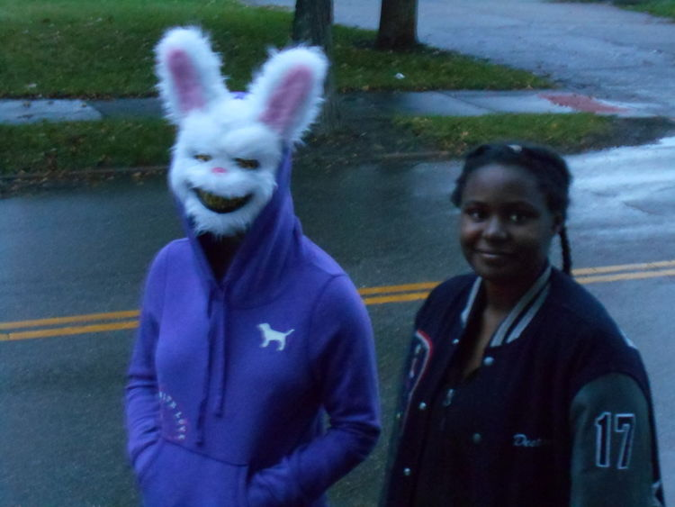 Halloween Trick-or-Treating in the Village #EyeEmTrickOrTreat Halloween Halloween 2017 Halloween Costumes Halloween EyeEm Susan A. Case Sabir Trick Or Treat Trick Or Treating TrickOrTreating Unrecognizable People Unretouched Photography Outdoors Rainy And Cold Real People Trickortreat Trickortreaters Trickortreattime
