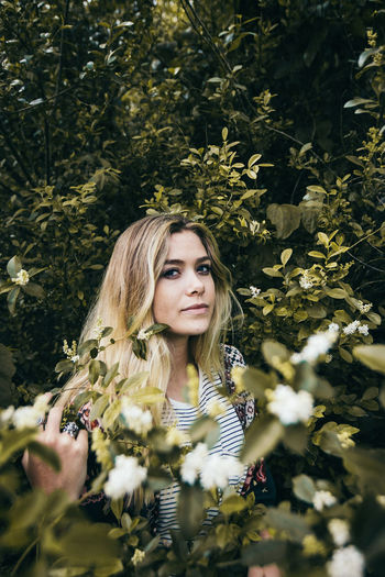 The Portraitist - 2017 EyeEm Awards Only Women Young Adult One Woman Only Beauty Adults Only Adult Nature Beautiful Woman Young Women One Young Woman Only One Person Long Hair People Outdoors Portrait Enjoyment Women Beautiful People Relaxation Tree Beautiful People Watching Looking