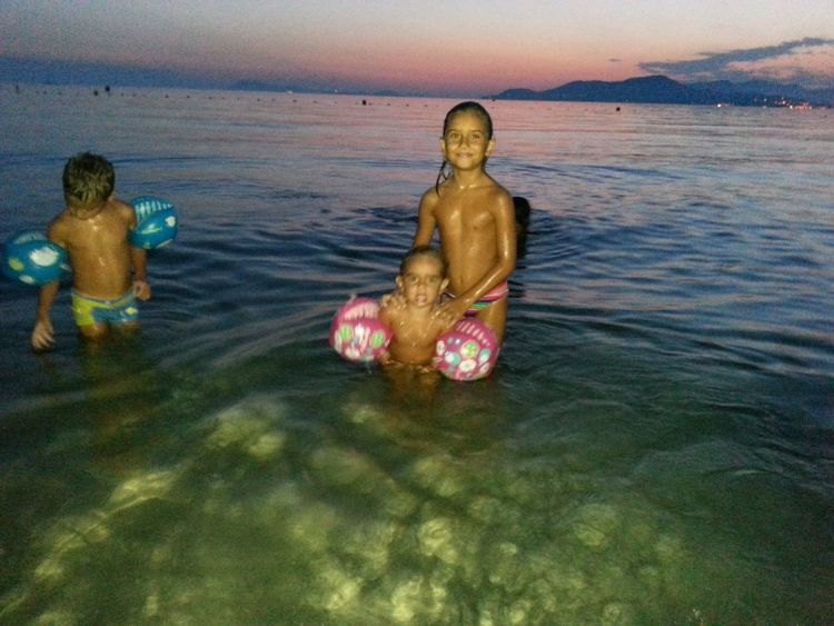 Beach Night Enjoying Life My Children