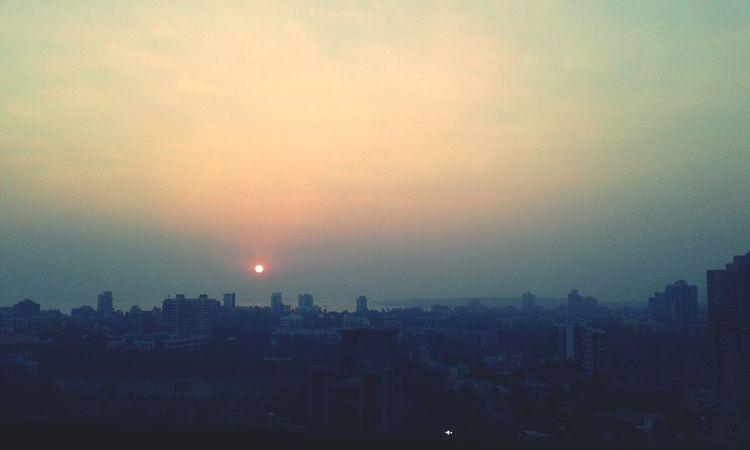 1249 93813 Sun Cityscape Sunset
