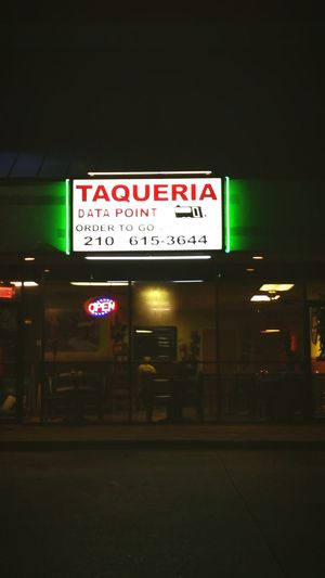 Currently San Antonio Mexican Food Tacos Texmex Texas Datapoint Taqueria