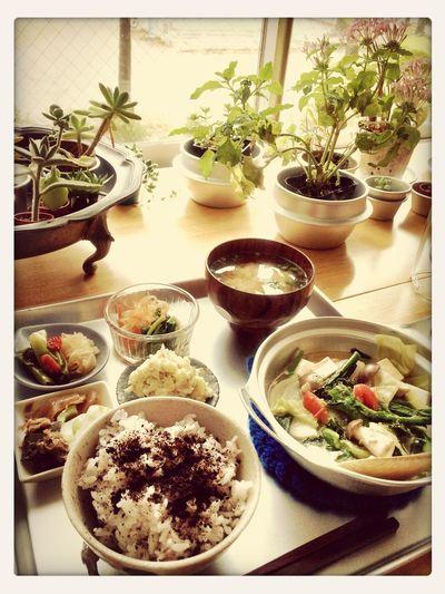 お野菜たっぷりの美味しいランチ♪ Lunch