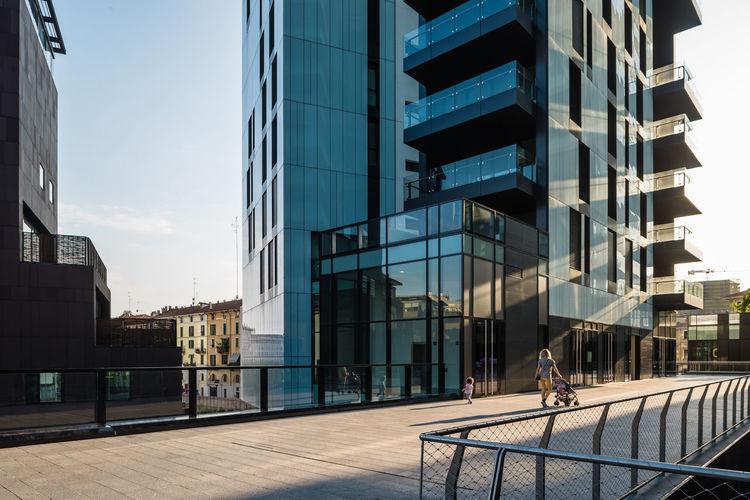 Architecture Building Exterior City City Life Development Italy❤️ Milano Modern Sky Tall - High The Architect - 2016 EyeEm Awards Embrace Urban Life