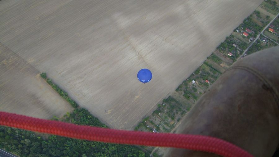 Balloon Blue Balloon Fly Flying HA-915 Hot Air Balloons