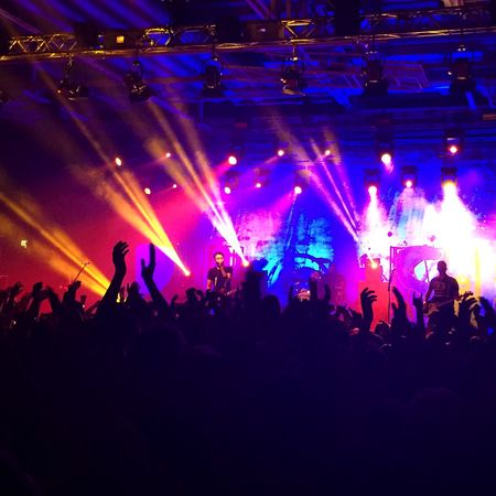 Last night Rise Against Pennywise Stockholm
