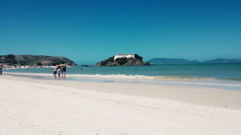 Forte de São Mateus Brazil Sea Blue Sky Nature Summer Horizon Over Water Day Water Travel Destinations