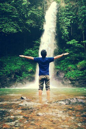 Enjoying Life Hidden Places Relaxing Waterfall Waterfalls Explorelampung WonderfulLampung