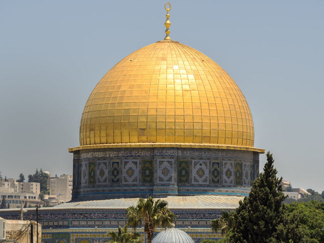 EyeEm Selects Dome Travel Destinations Architecture Politics And Government Sky Day City Outdoors Omd Em5 Mark Ii EyeEm Best Shots Building Exterior Architecture History Jerusalem Cupola Gold Golden ALAQSA Mosque Alaqsamosque Travel Olympus
