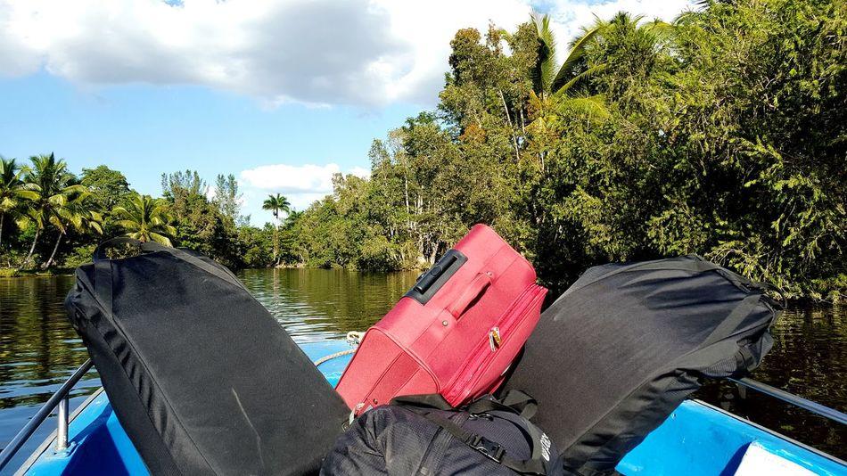 River Boat Luggage The Tourist Trip To Cuba Guama