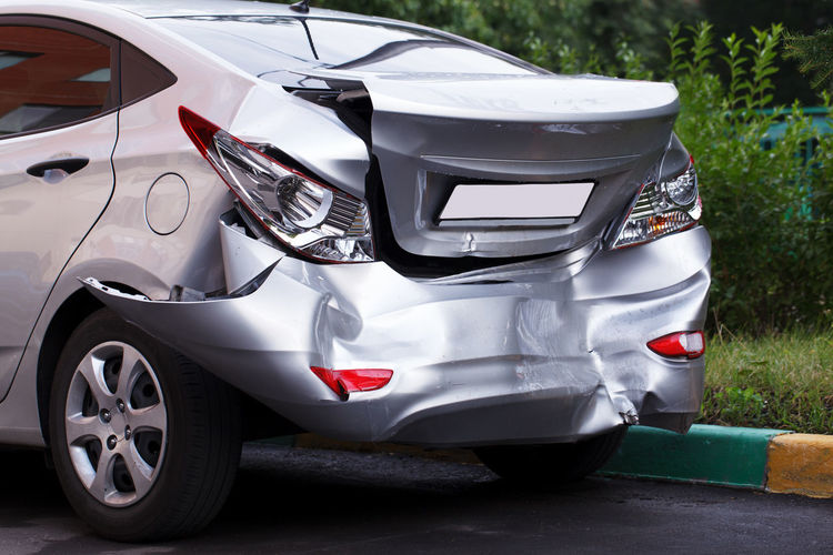 Accident Auto Auto Service Automobile Bumper Car Collision Crash Crush Damaged Deformation Drive Insurance No People Road Smashed Speed Transport Vehicle Wreck