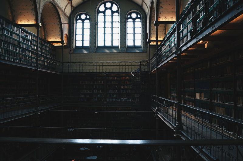 Amsterdam Architectural Feature Architecture Books Indoors  Interior Library Light VSCO Vscocam