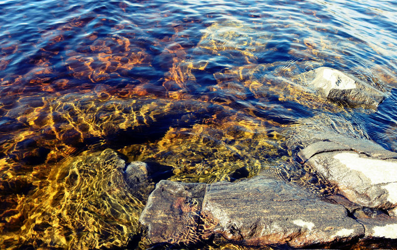 Clear water of the lake Saimaa. Finland♥ Backgrounds Beach Beauty In Nature Clean Water Clear Clear Water Close-up Day Full Frame High Angle View Lake Lake View Lake Views Nature No People Outdoors Pure Nature Rippled Saimaa Stone Stones Water
