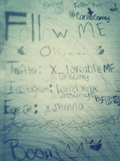 What I Drew In Detention -.^