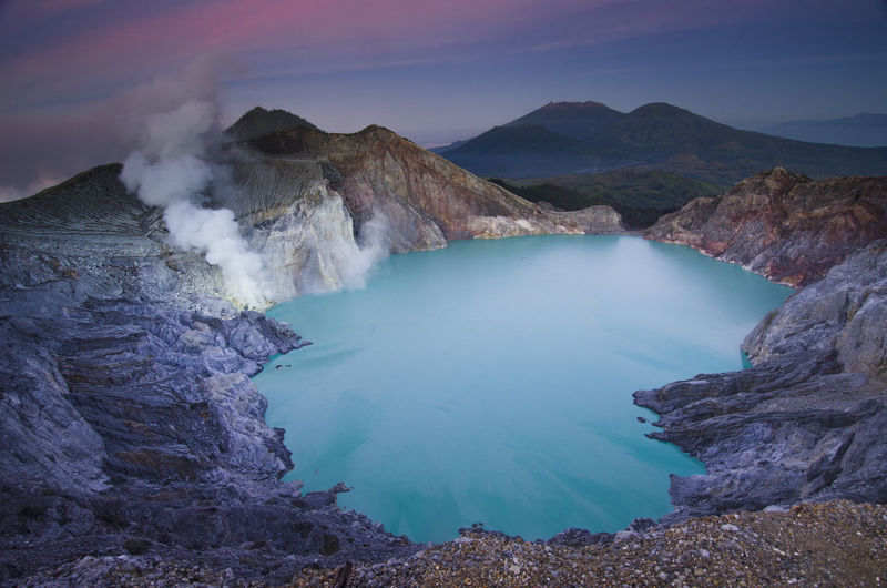 Magnificent Sunrise at Ijen Crater, East java, Indonesia Blue Fish Holiday Holidays INDONESIA Landscape_Collection Landscapes With WhiteWall Nature Nature Photography Vacations Beauty In Nature Beauty Of Nature Crater Destination Ijen Crater Indonesia_photography Lake Landscape Landscape_photography Landscapes Mountain Nature_collection Naturelovers Sunrise Sunrise_sunsets_aroundworld Vacation