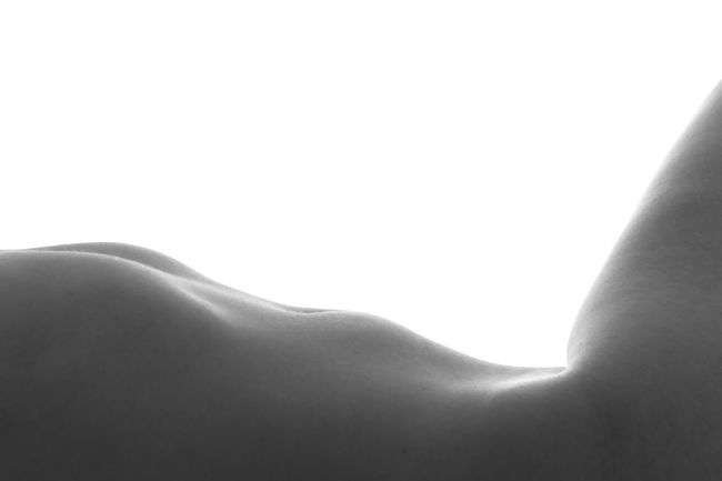 """""""Sands"""" Human Skin Human Body Part Studio Shot Midsection Close-up White Background Softness Adults Only One Woman Only Women Skin Temptation Black And White Shirtless Adults Only Silhouette Beautiful People Sand Sand Dune"""