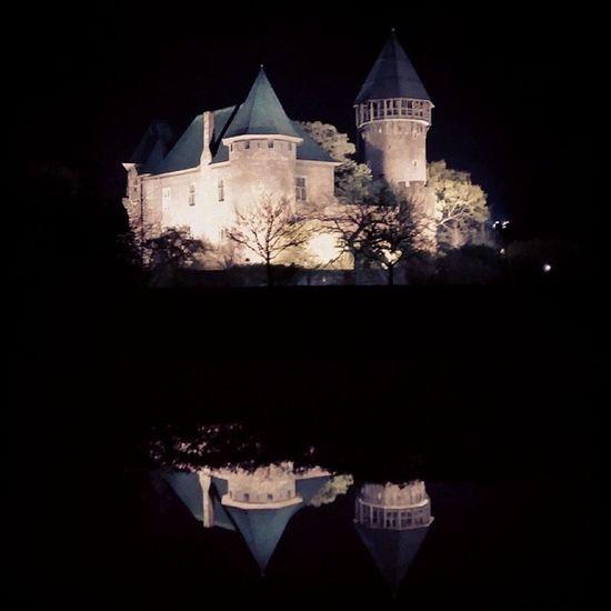 Burg Linn bei Nacht BurgLinn Burg Linn LinnerBurg Nacht