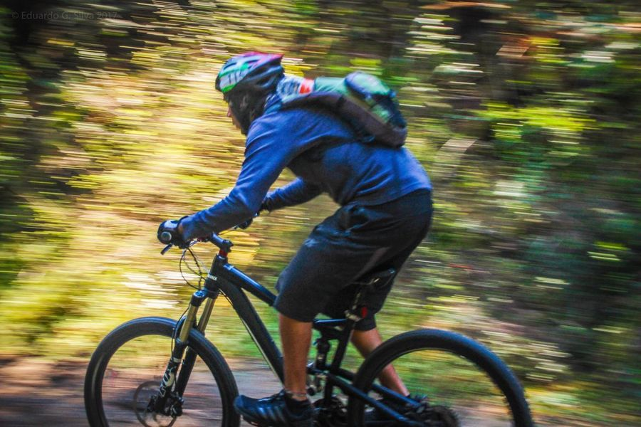 Ajusco Mexico City Bicicleta Bicycle Trip Bicycles Cycling Bicycle Blurred Motion Speed Motion Exercising Sport Adventure Bicycling Nature Mountainbike Mountain Bike