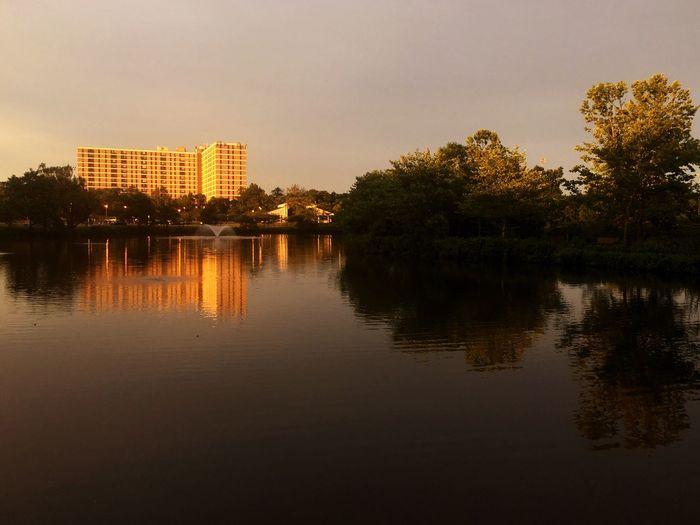 Pond Park Sunset Apartments Condo Quiet Stillness Stillness In Time Serenity
