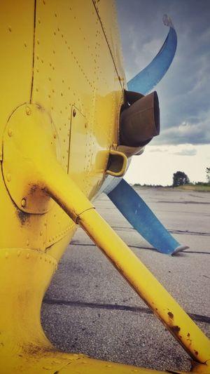 Yellow Close-up Outdoors Day Sky Planes Shotononeplus Oneplusphotowalk Oneplusphotography Onepluslife City Life Cameraphone Smartphonephotography Snapseed Amusement Park