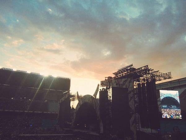 ACDC Concert SPAIN May Memories Timeago EyeEm Enjoying Life Sky Missing