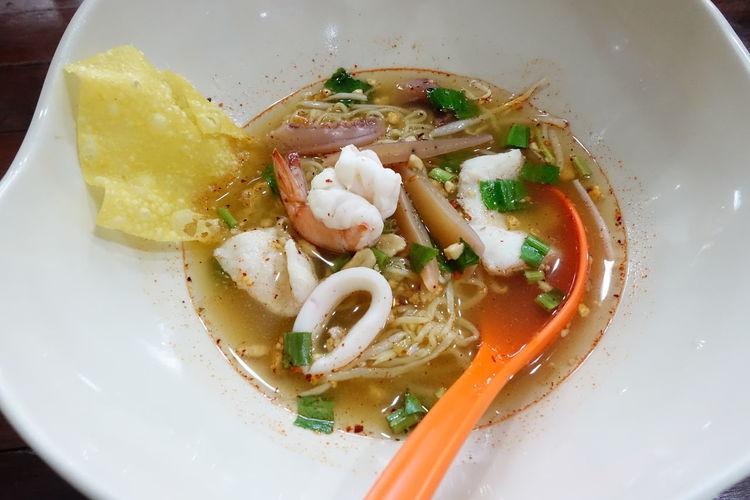 City Plate Soup
