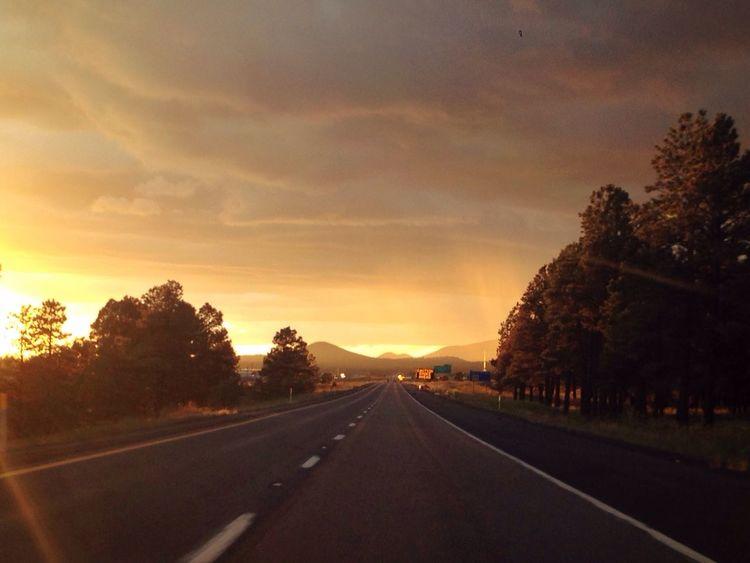 HighwayToHell Sunset