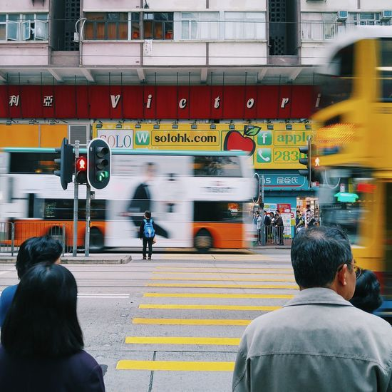Photo Daily Life Day Rear View Thim Sha Tsui HongKong Streetphotography Street People Real People Outdoors City City Life