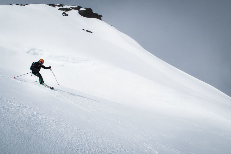 Nordic Light Winter Activity Adventure Backcountry Skiing Beauty In Nature Cold Temperature Freedom Holiday Leisure Activity Lifestyles Mountain Mountain Range Off Piste Real People Scenics - Nature Skiing Snow Snowcapped Mountain Sport White Color Wilderness Winter Winter Sport #FREIHEITBERLIN