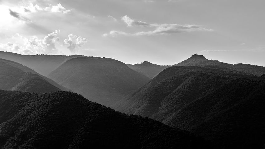 SPAIN Catalunya Catalonia Catalunyaexperience Blackandwhite Black And White Black & White Sky Scenics - Nature Mountain Cloud - Sky Beauty In Nature Tranquility Tranquil Scene Mountain Range Landscape Environment Nature Non-urban Scene No People Day Remote Land Idyllic Physical Geography Outdoors Rock Mountain Peak