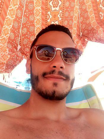 Selfportrait Helloworld Sunny Day Beauty Today's Hot Look Photooftheday Self Portrait Beach Neverforgettosmile Beard