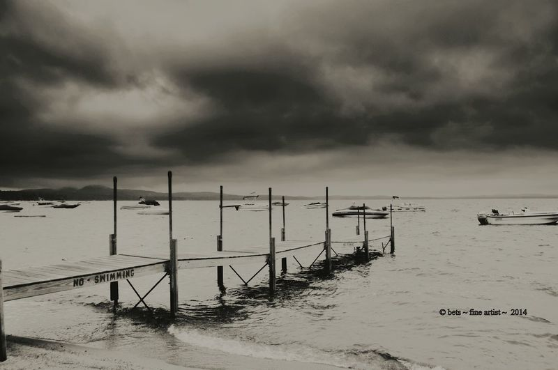 Nikonphotography Mainephotographer Memories ❤ Perspective Photography Whistleblowers Need Love Mainethewaylifeshouldbe For Sale No People Boats⛵️Boats⛵️ Sebagolake Pier Blackandwhite Photography Stormy Weather
