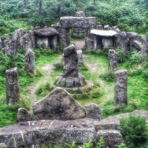 Druid's Secret Place Temple Secret Temple Secret Temple