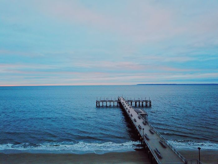 Drone  Sea Water Scenics Sky Horizon Over Water Tranquility Nature
