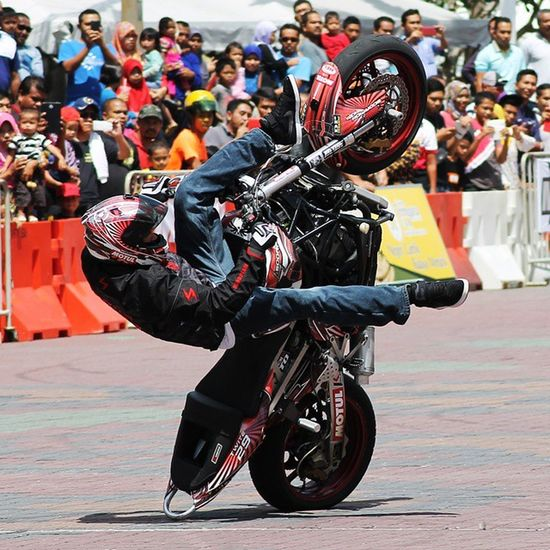 Stuntshow Motorbike Canon Sports Photography