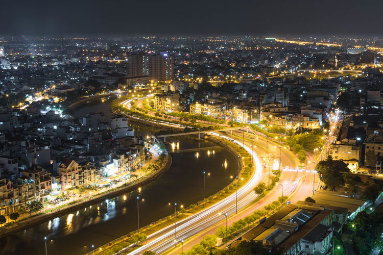 HCMC D5 Hcmc Hcmcity Saigon Saigon, Vietnam District5 Cityscapes Citylights Night Lights Nightphotography Long Exposure 30seconds Riverview 50mm ASIA Travel Photography City Skyline Cities At Night